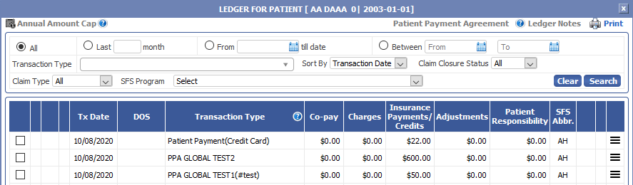 Annual Amount Cap Feature Added To expEDIum Medical Billing.